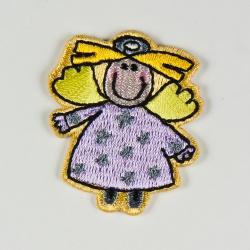 Engelpatch Lila