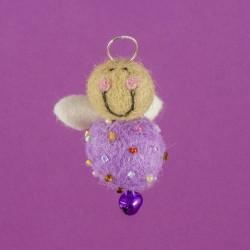 Vilten Mini Engel Hangend 02