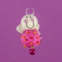 Vilten Mini Engel Hangend 04