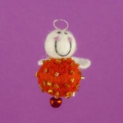 Vilten Mini Engel Hangend 06