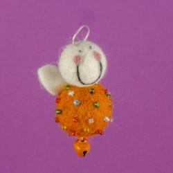 Vilten Mini Engel Hangend 07