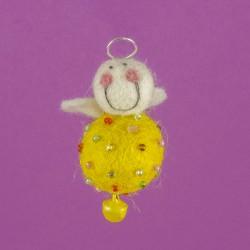 Vilten Mini Engel Hangend 09