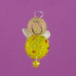 Vilten Mini Engel Hangend 10