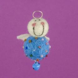 Vilten Mini Engel Hangend 11