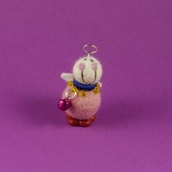 Vilten Mini Engel Staand 02